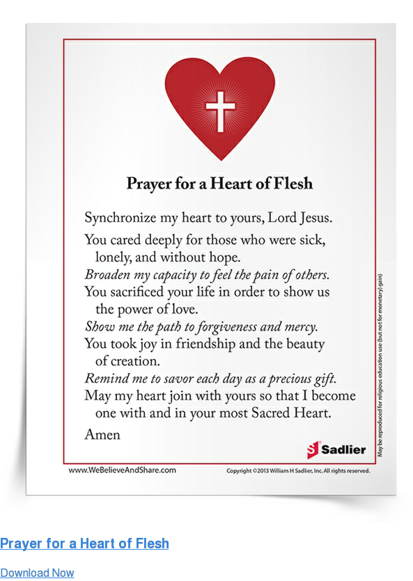 Prayer for a Heart of Flesh Download Now