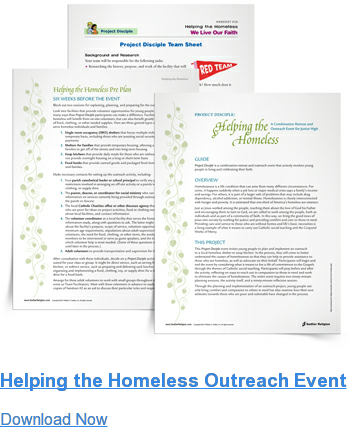 Helping the Homeless Outreach Event Download Now