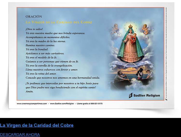 La Virgen de la Caridad del Cobre DESCARGAR AHORA