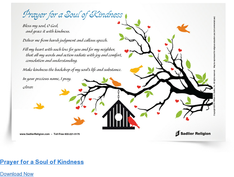 Prayer for a Soul of Kindness Download Now