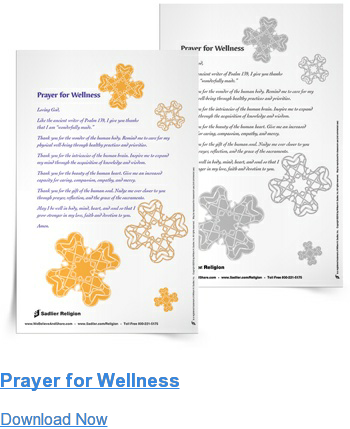 Prayer for Wellness Download Now
