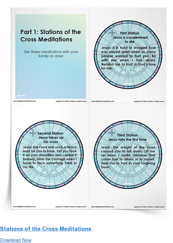 Stations of the Cross Meditations Download Now