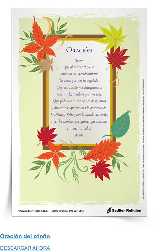 Oración del otoño DESCARGAR AHORA
