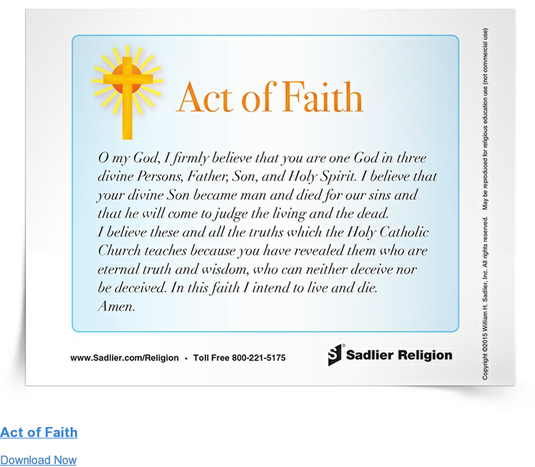 Act of Faith Download Now