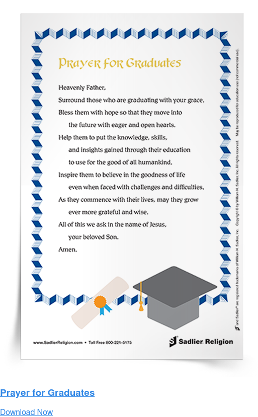 Prayer for Graduates Download Now