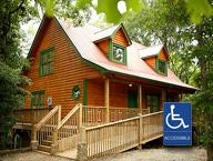 Handicapped Accessible Cabin in Helen GA