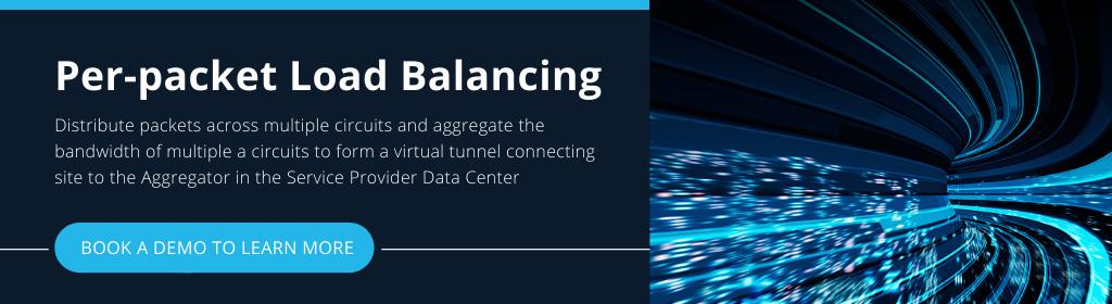 Per-packet load balancing