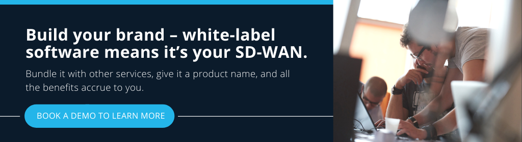 Build your brand – white-label software means it's your SD-WAN