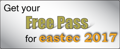 Get your free pass for eastec 2017