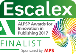 Escalex-finalist-ALPSP-innovation-award