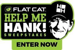 FLAT CAT Help Me Hank Sweepstakes