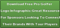 Free Pro Golfer Logo Infographic: Great Resource For Sponsors  Looking To Connect Their  Brands With Tour Players