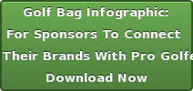 Golf Bag Infographic: New Resource  For SponsorsTo Connect  Their Brands WithPro Golfers Download Now