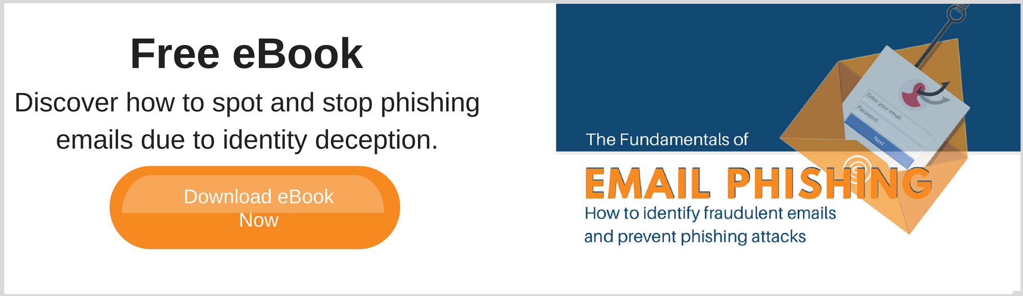 How to spot and stop email phishing ebook
