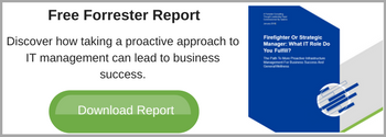 Forrester report on proactive IT management