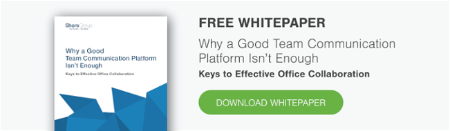 cover of whitepaper on effective team communication and collaboration in the office