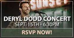 Deryl Dodd concert RSVP