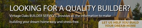 Looking for a quality builder? Let Builder Services help!