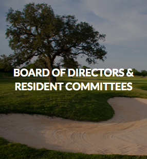 Board of Directors & Resident Committees