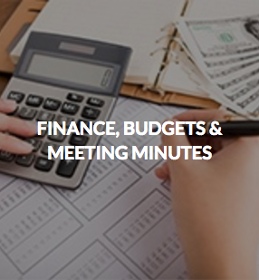 Finance, Budgets & Meeting Minutes