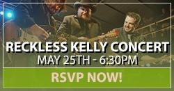 Reckless Kelly Concert RSVP
