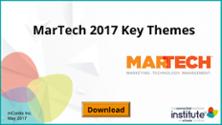 Download 2017's MARTECH Key Takeaways