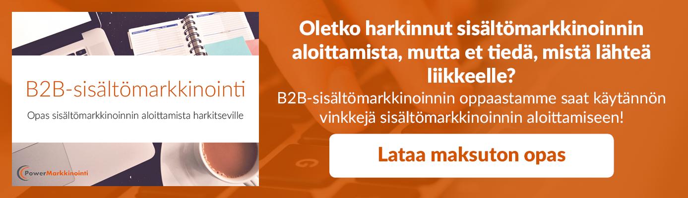 B2B-sisältömarkkinoinnin opas