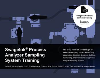 Swagelok Process Analyzer Sampling System Training Brochure