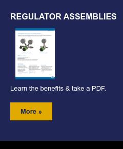 Regulator Assemblies  Learn the benefits & take a PDF.  More »