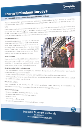 Learn more about Swagelok Energy Emissions Surveys