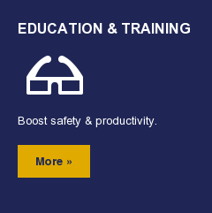 Education & Training  Boost safety & productivity. More »