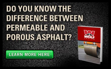 Permeable Pavement vs. Porous Asphalt