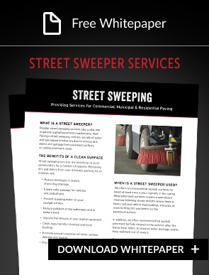 Street Sweeper service