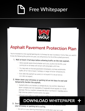 asphalt protection plan whitepaper