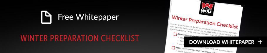Winter Preparation Checklist