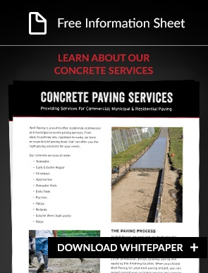 concrete contractor services