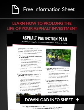 Asphalt protection plan