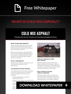 cold mix asphalt