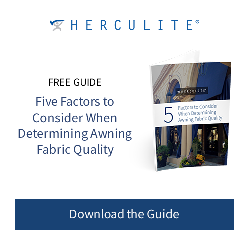 5 Factors to Consider When Determining Awning Quality Herculite Free Guide