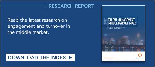 Research Report! 2017 Talent Management Middle Market Index