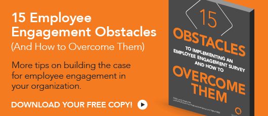 Free ebook! 15 Employee Engagement Obstacles (And How to Overcome Them)