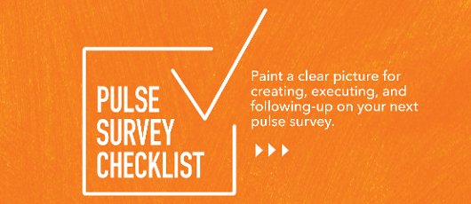 pulse survey checklist