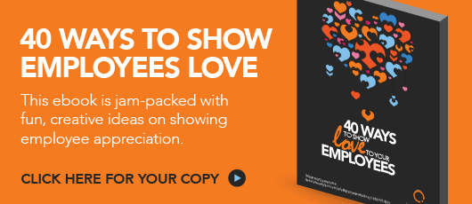 Free ebook! 40 Ways to Show Love to Employees