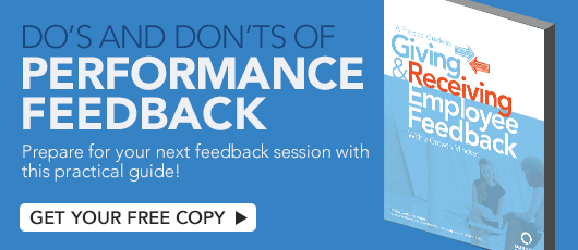Free ebook! A Practical Guide to Giving and Receiving Employee Feedback With a Growth Mindset!
