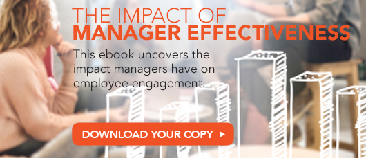 Free ebook! The Impact of Manager Effectiveness on Employee Engagement