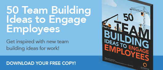 Free ebook! 50 Team Building Ideas to Engage Employees