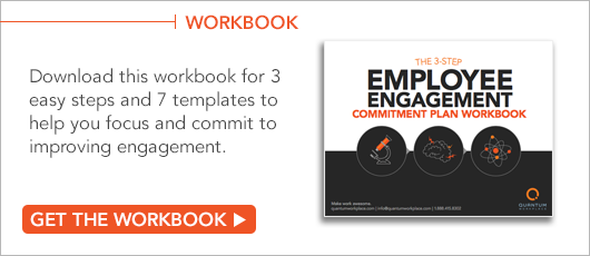 Free Workbook! The 3-Step Employee Engagement Commitment Plan