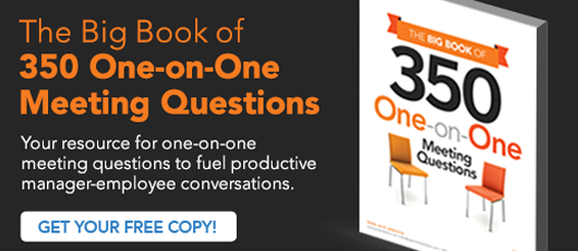 The Big Book of 350 One-on-One Meeting Questions