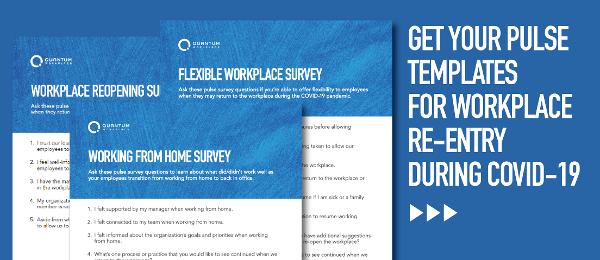 Reopening Pulse Survey Templates