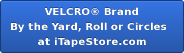 VELCRO® Brand  By the Yard, Roll or Circles     at iTapeStore.com